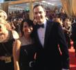 Robin Levinson with Jim Parsons